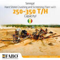 new FABO STATIONARY CRUSHING & SCREENING PLANT 250-350 TPH crushing plant