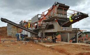 new CONSTMACH 120-150 TPH Capacity Mobil Stone Crusher Plant mobile crushing plant