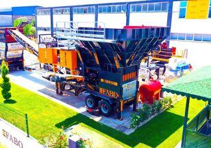 new FABO FABO MJK-90 MOBILE JAW CRUSHER  100-200 TPH READY IN STOCK mobile crushing plant
