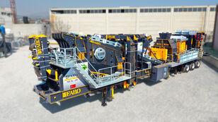 new FABO MCK-60 MOBILE CRUSHING & SCREENING PLANT FOR HARDSTONE mobile crushing plant