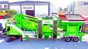 new FABO ME 1645 SERIES INSTALLATION DE CRIBLAGE DE SABLE MOBILE mobile crushing plant