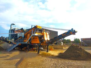 new FABO MEY-1645 MOBILE SAND SCREENING & WASHING PLANT mobile crushing plant