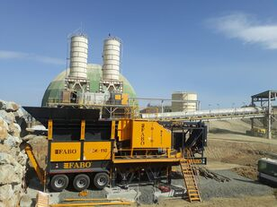 new FABO MJK-110 SERIES 200-300 TPH MOBILE JAW CRUSHER PLANT mobile crushing plant