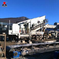 new Liming Plant Crusher Cone Crusher Plant 250 Tons Per Hour Granite Crush mobile crushing plant