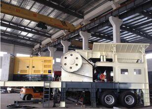 new METSO 200-500TPH  mobile crushing plant