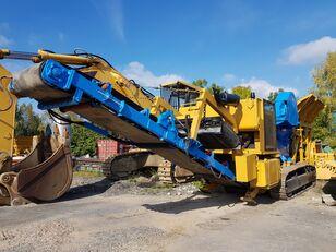 OM Giove mobile crushing plant