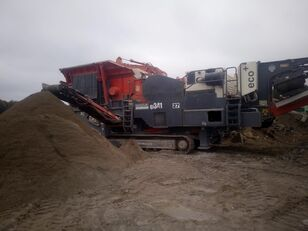 SANDVIK QJ341 ECO+ mobile crushing plant