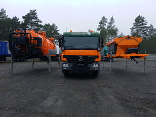 MERCEDES-BENZ ACTROS 2636 6x4 WUKO + MUT SAND MACHINE FOR CHANNEL CLEANING universal communal machine